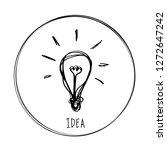 idea line icon vector  isolated ...