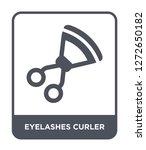 eyelashes curler icon vector on ...   Shutterstock .eps vector #1272650182