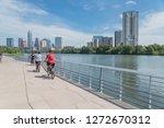 people biking running walking...   Shutterstock . vector #1272670312