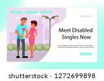 landing page for virtual... | Shutterstock .eps vector #1272699898
