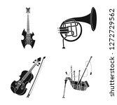 vector illustration of music... | Shutterstock .eps vector #1272729562