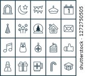 new icons set with mug  close... | Shutterstock .eps vector #1272750505