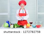 welcome to my culinary show.... | Shutterstock . vector #1272782758