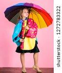 confident in her fall garments. ... | Shutterstock . vector #1272783322