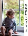 Adorable Blond Toddler Boy...
