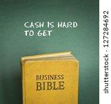 business bible commandment  ... | Shutterstock . vector #127284692