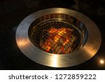 clean and empty grill stove in...   Shutterstock . vector #1272859222