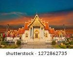 wat benchamabophitr dusit... | Shutterstock . vector #1272862735
