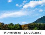 blue sky and beautiful cloud... | Shutterstock . vector #1272903868