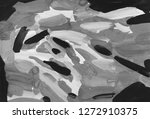 gray black and white gradient ... | Shutterstock . vector #1272910375