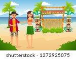 a vector illustration of...   Shutterstock .eps vector #1272925075