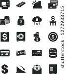 solid black vector icon set  ... | Shutterstock .eps vector #1272933715