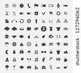 set of web icons | Shutterstock . vector #127296062