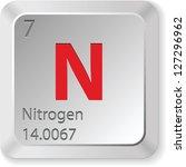 nitrogen   keyboard button   Shutterstock . vector #127296962
