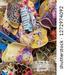 ladies hair clips   Shutterstock . vector #1272974092