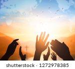 World religion day concept ...