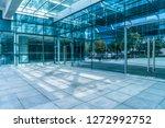 modern office building outdoors ... | Shutterstock . vector #1272992752