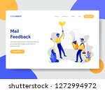landing page template of mail... | Shutterstock .eps vector #1272994972