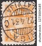 latvia circa 1931 a stamp... | Shutterstock . vector #1273004185