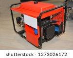 mobile power backup generator.... | Shutterstock . vector #1273026172
