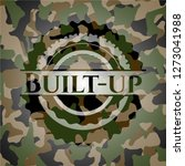 built up on camo pattern | Shutterstock .eps vector #1273041988