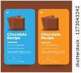 recipe app design for smart...