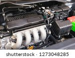 close up of automobile car 4... | Shutterstock . vector #1273048285