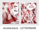 card templates vector...   Shutterstock .eps vector #1273058608