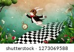 magical fantasy background... | Shutterstock . vector #1273069588