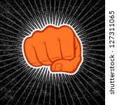 fist eps 10 file | Shutterstock .eps vector #127311065