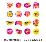 sale banner templates design....   Shutterstock .eps vector #1273122115