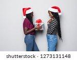 portrait of two african women...   Shutterstock . vector #1273131148