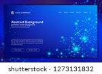 abstract  modern dynamic...   Shutterstock .eps vector #1273131832