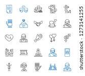 relationship icons set....   Shutterstock .eps vector #1273141255