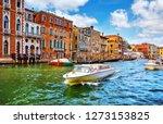 venice  italy. high speed water ... | Shutterstock . vector #1273153825