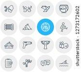 vector illustration of 16... | Shutterstock .eps vector #1273172602