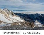 spectacular winter mountain... | Shutterstock . vector #1273193152