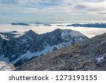 spectacular winter mountain... | Shutterstock . vector #1273193155
