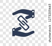 affiliate link icon. trendy...   Shutterstock .eps vector #1273205665