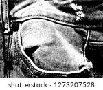 jeans with seams and pocket... | Shutterstock .eps vector #1273207528