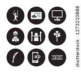 9 vector icon set   puppet ... | Shutterstock .eps vector #1273210888