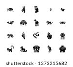 vector illustration of 20 icons.... | Shutterstock .eps vector #1273215682