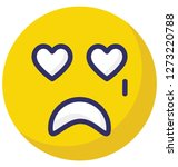 crying  weeping vector... | Shutterstock .eps vector #1273220788
