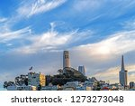 the coit tower photographed... | Shutterstock . vector #1273273048