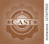cast wooden emblem | Shutterstock .eps vector #1273275922