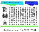 architecture icon set. 120... | Shutterstock .eps vector #1273298908