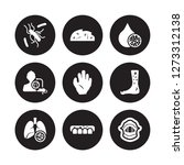 9 vector icon set  ... | Shutterstock .eps vector #1273312138