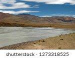 brahmaputra river in tibet | Shutterstock . vector #1273318525