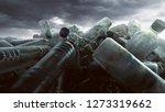 a pill of plastic bottles   Shutterstock . vector #1273319662
