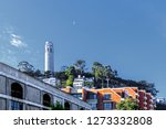 the coit tower photographed... | Shutterstock . vector #1273332808